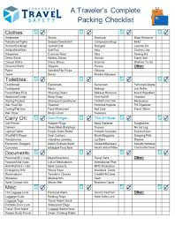complete packing list_s