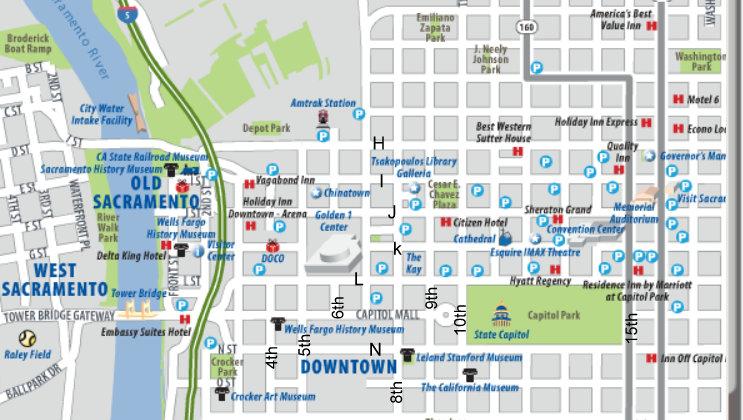 Sacramento mapa